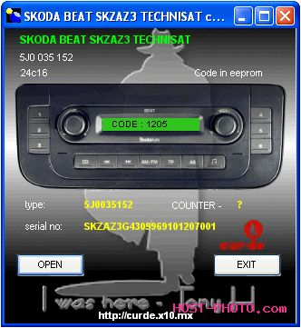 Radio code calculator | automobile radio decoder | free radio code.